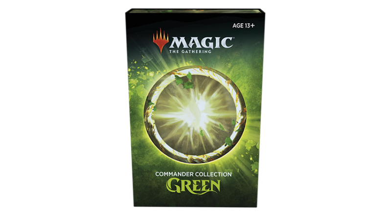 Magic - Commander Collection Green