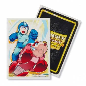 Dragon Shield - Classic Art Sleeves - Megaman & Rush (100)