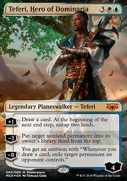 Magic Singles - Mythic Edition - Teferi, Hero of Dominaria