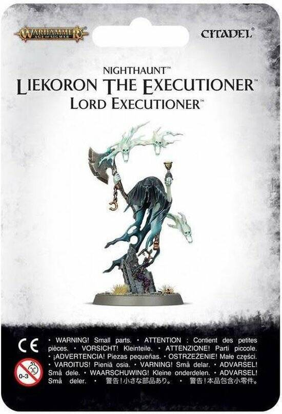 Warhammer AoS - Death - Liekoron the Executioner / Lord Executioner.