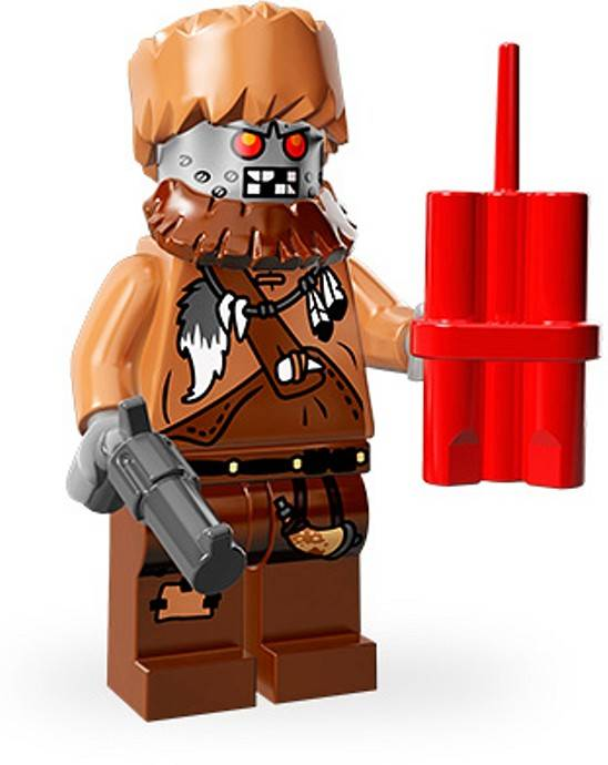 Lego Minifigure - CMF The Lego Movie - Wiley Fusebot