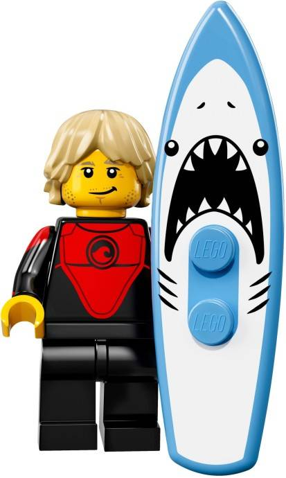 Lego Minifigure - CMF Series 17 - Surfer Dude