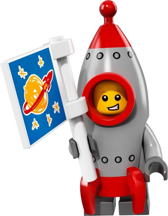 Lego Minifigure - CMF Series 17 - Rocket Boy