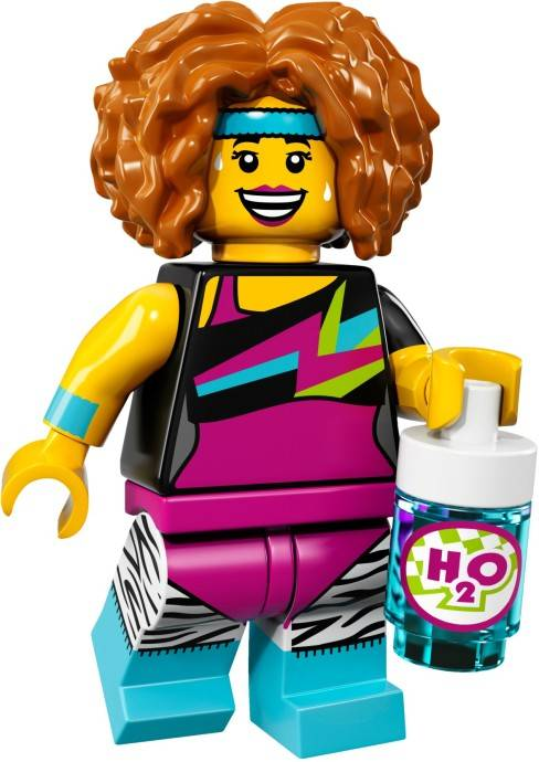 Lego Minifigure - CMF Series 17 - Dance Instructor