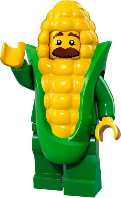Lego Minifigure - CMF Series 17 - Corn Cob Guy