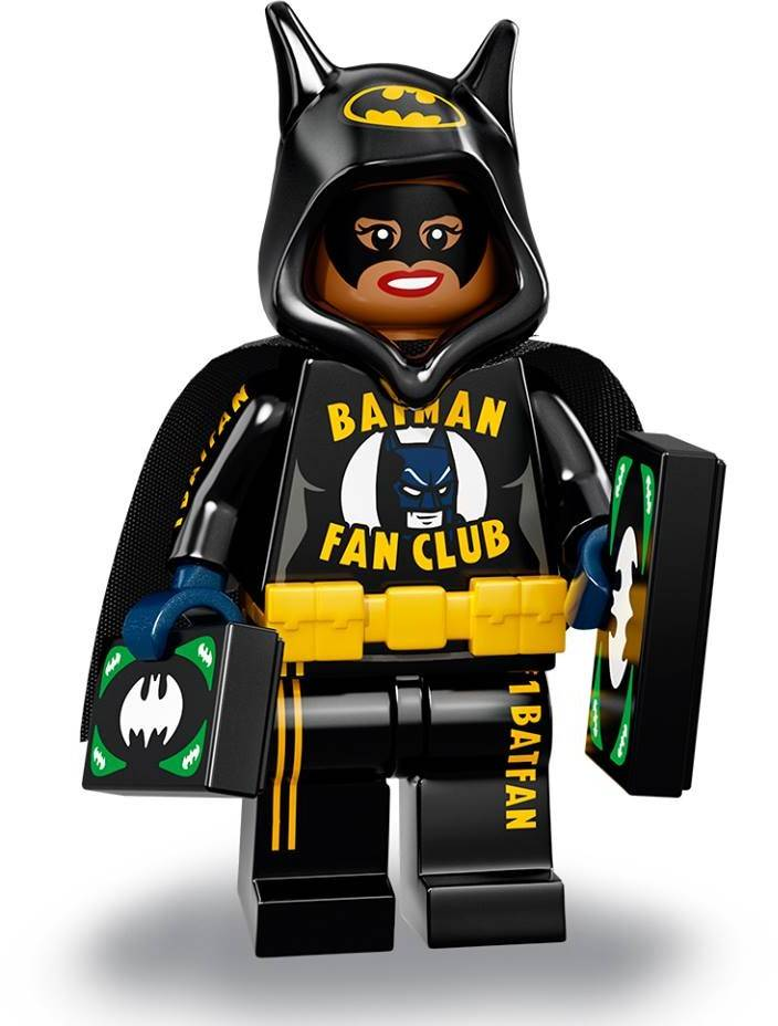 Lego Minifigure - CMF The Lego Batman Movie 2 - Soccer Mom Batgirl