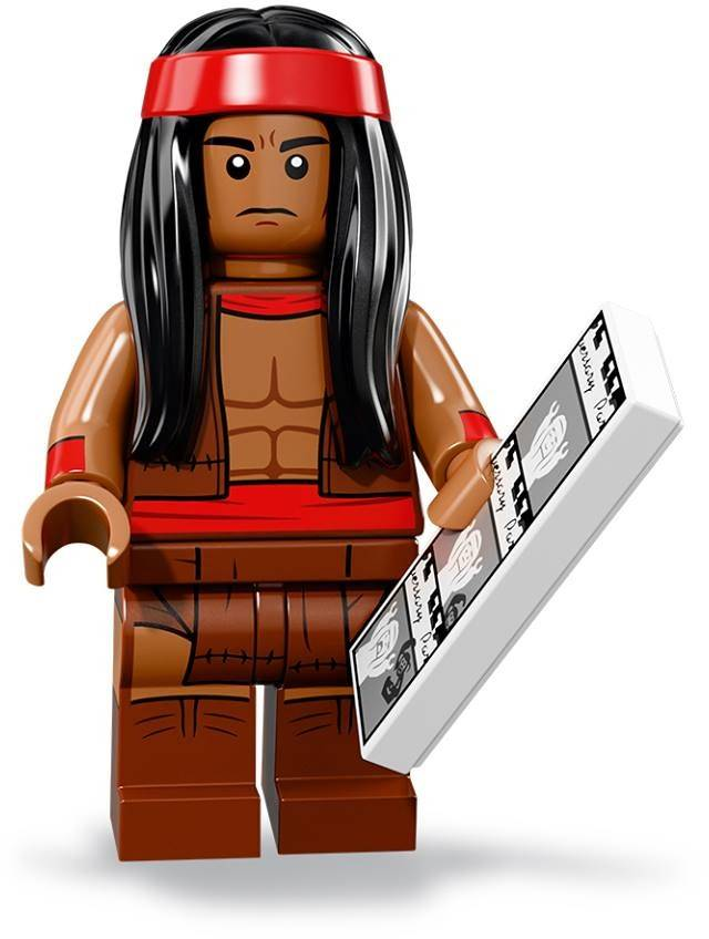 LEGo Minifigure - CMF The Lego Batman Movie 2 - Apache Chief
