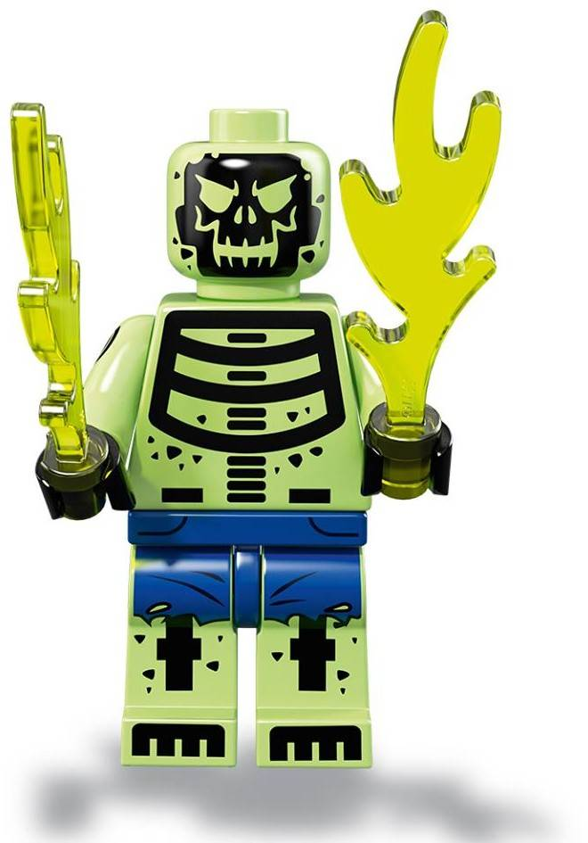 Lego Minifigure - CMF The Lego Batman Movie 2 - Doctor Phosperous