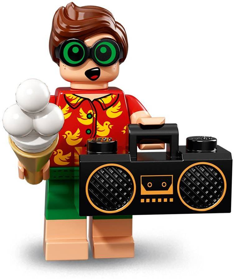 Lego Minifigure - CMF The Lego Batman Movie 2 - Vacation Robin