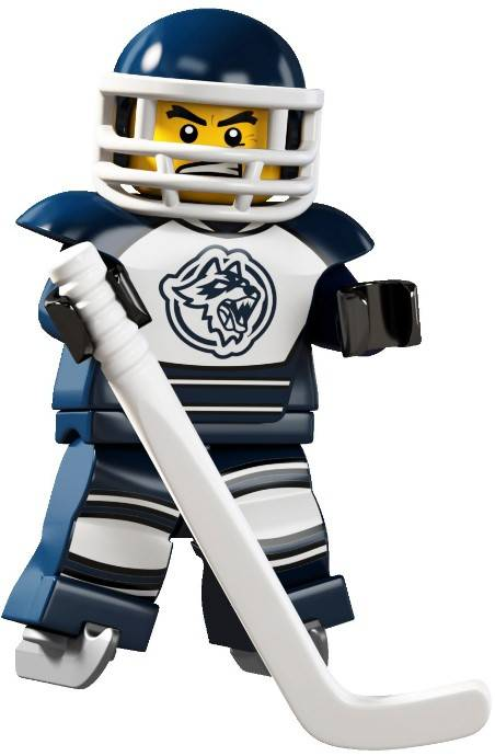 Lego Minifigure - CMF Series 04 - Hockey Player