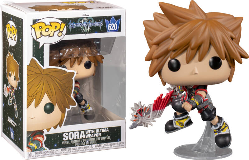 Funko Pop - Kingdom Hearts 3 - Sora (with Ultima Weapon)