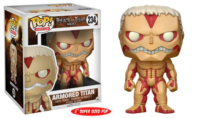 Funko Pop - Attack on Titan - Armored Titan (Oversized)