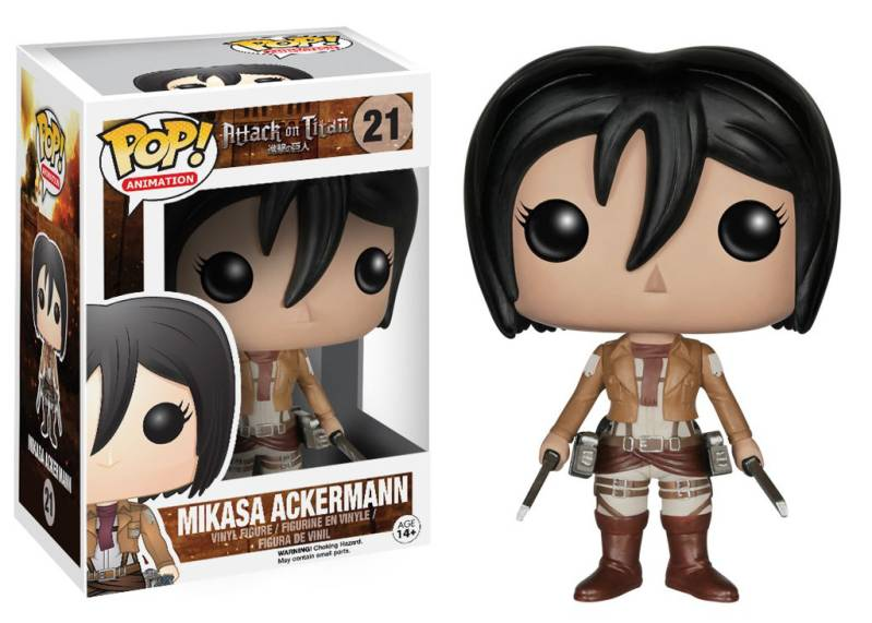 Funko Pop - Attack on Titan - Mikasa Ackermann
