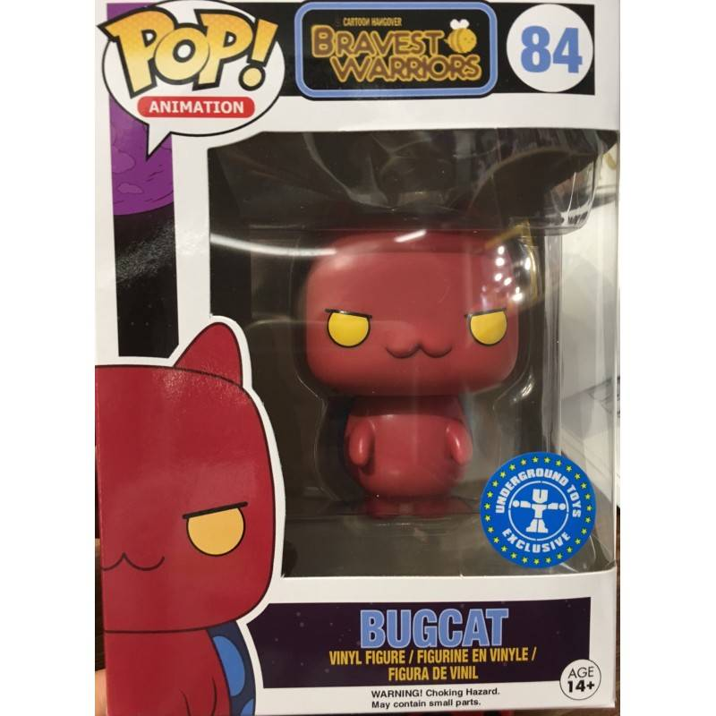 Funko Pop - Bravest Warriors - Bug Cat (Red)