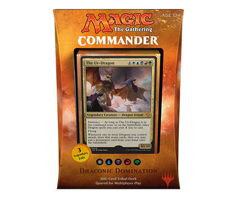 Magic - Commander 2017 - Draconic Domination