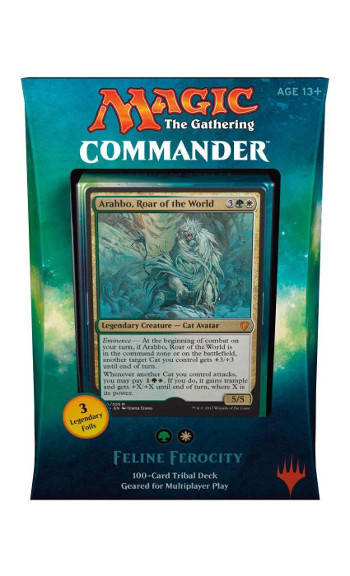 Magic - Commander 2017 - Feline Ferocity