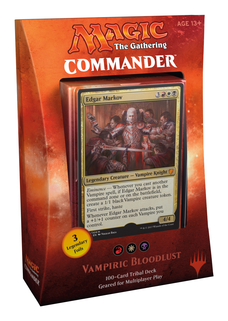 Magic - Commander 2017 - Vampire Bloodlust