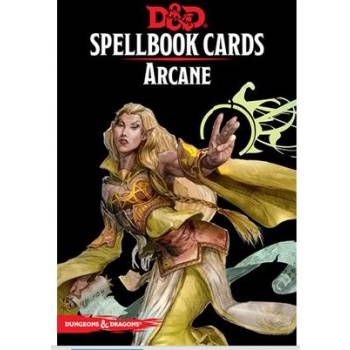 D&D - 5th Ed. - Spellbook Cards - Arcane