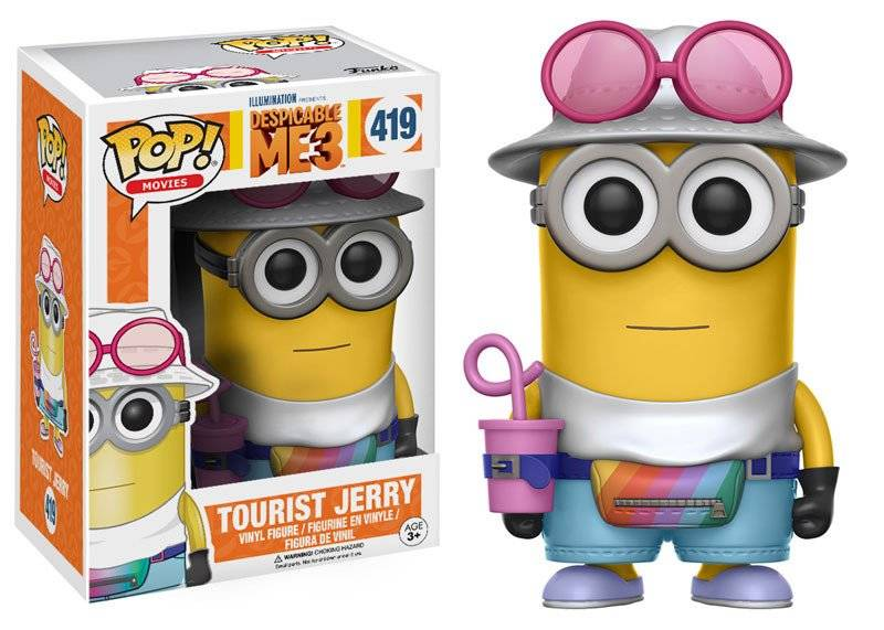 Funko Pop - Despicable Me 3 - Tourist Jerry