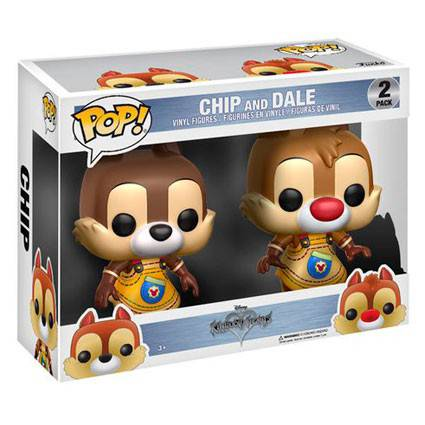 Funko - Disney 261 - Kingdom Hearts - Chip & Dale 2 pack