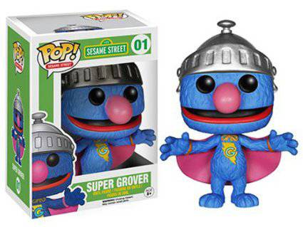 Funko Pop - Sesame Street - Super Grover