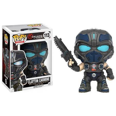 Funko Pop - Gears of War - Clayton Carmine