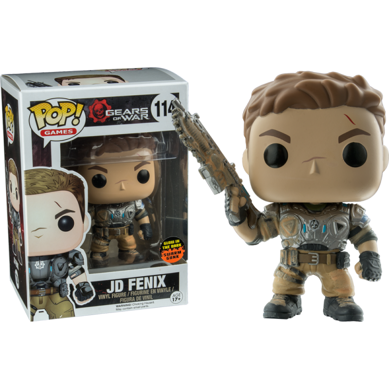 Funko Pop - Gears of War - JD Fenix