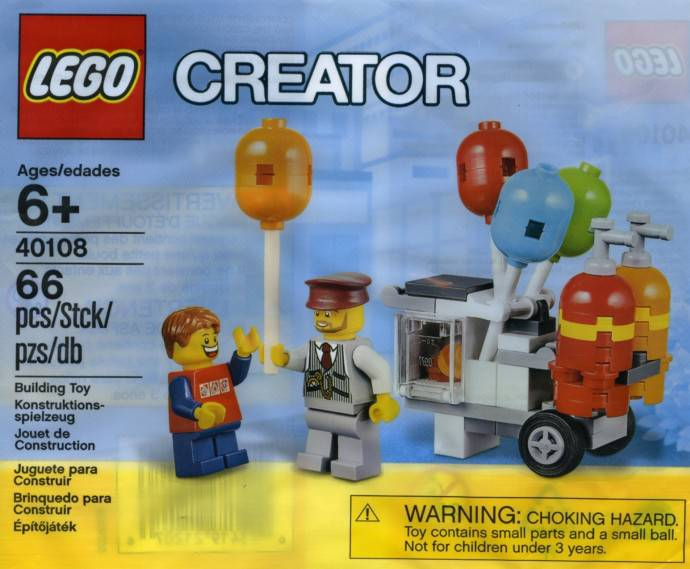 Lego 40108 - Balloon Cart