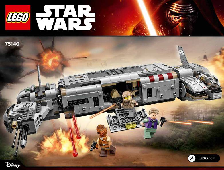 Lego 75140 - Star Wars Ressistance Troop Transport