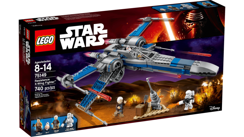 Lego Star Wars 75149 - Ressistance X-Wing Fighter