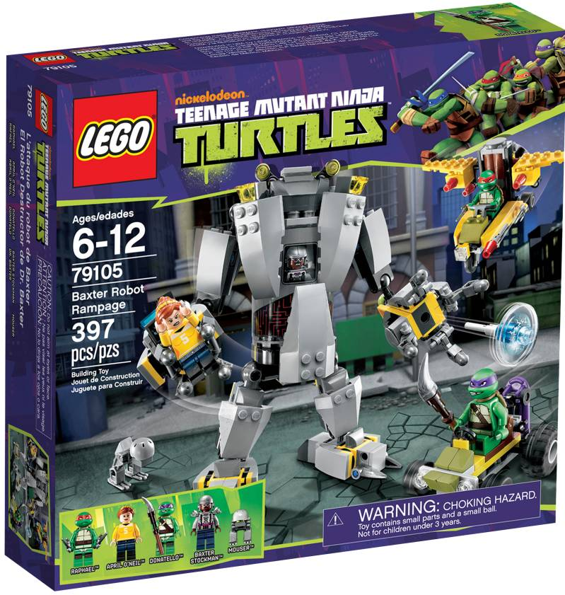 Lego  79105 - Teenage Mutant Ninja Turtles- Baxter's Robot Rampage