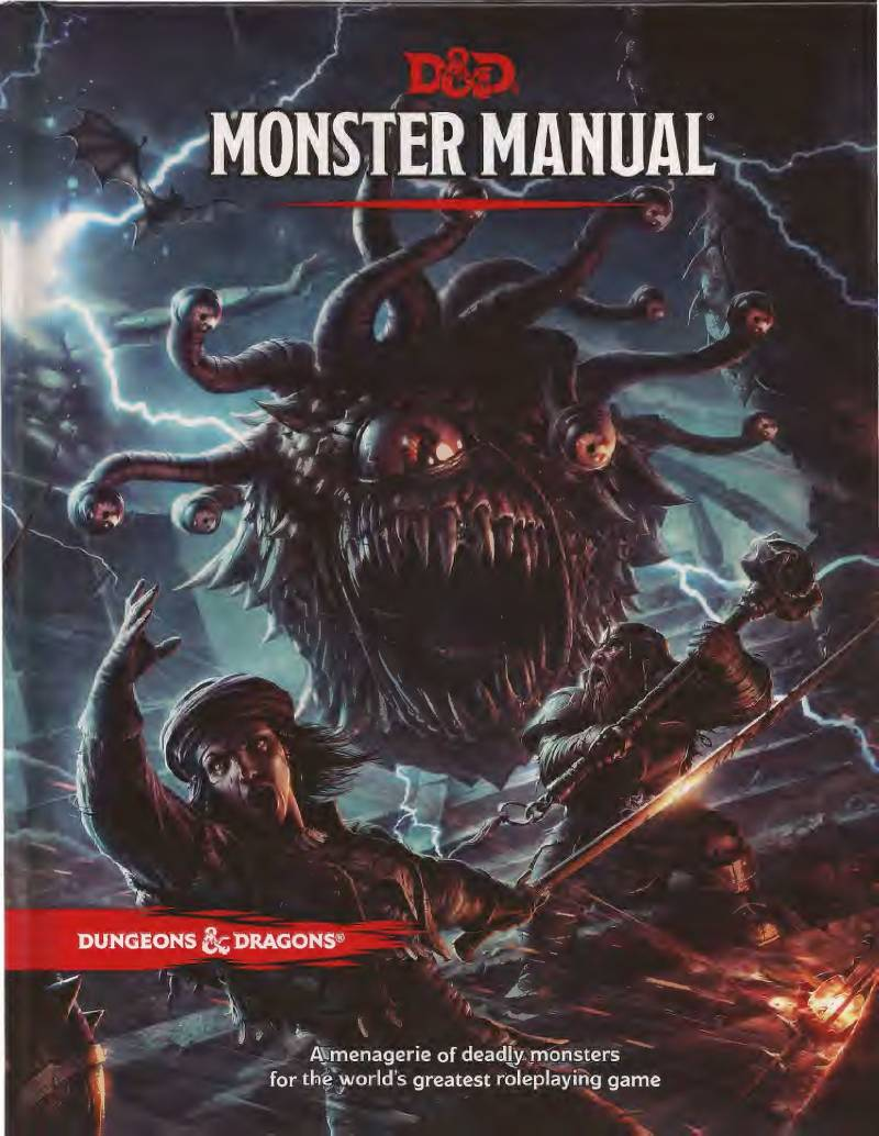 D&D - 5th Ed. - Monster Manual