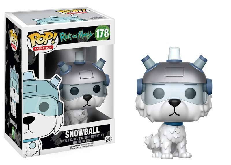 Funko Pop - Rick & Morty - Snowball