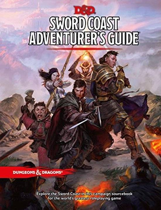 D&D - 5th Ed. - Sword Coast Adventurers Guide