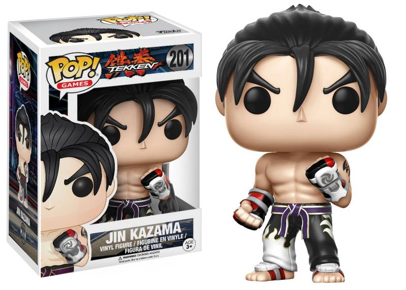 Funko Pop - Tekken - Jin Kazama (Black & White)