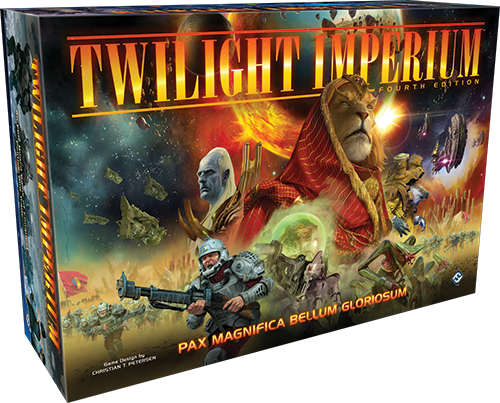 Twilight Imperium 4th Edition + Exclusive HC Rulebook