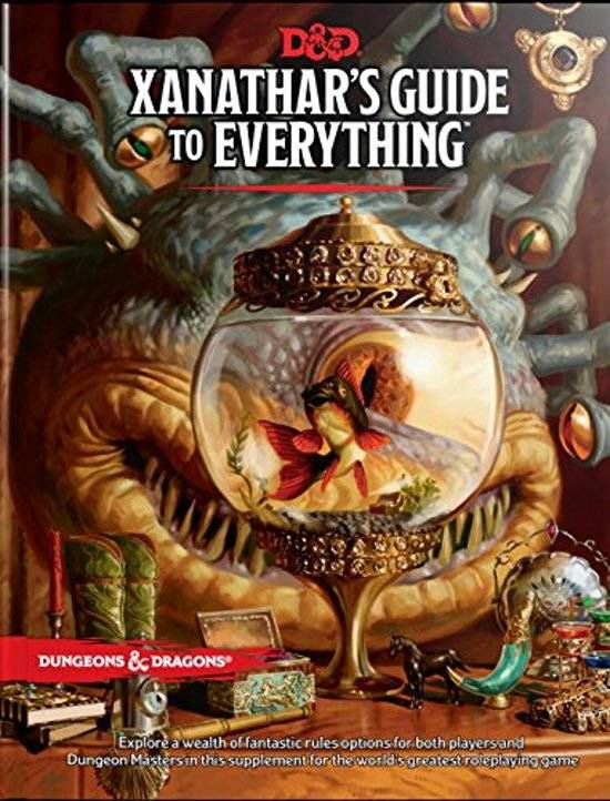 D&D - 5th Ed. - Xanathar's Guide to Everything