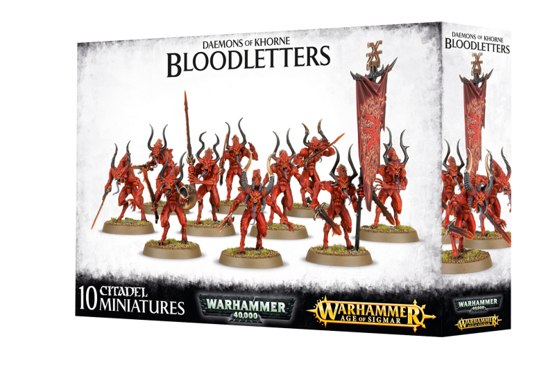 Warhammer AoS / 40K - Chaos - Bloodletters