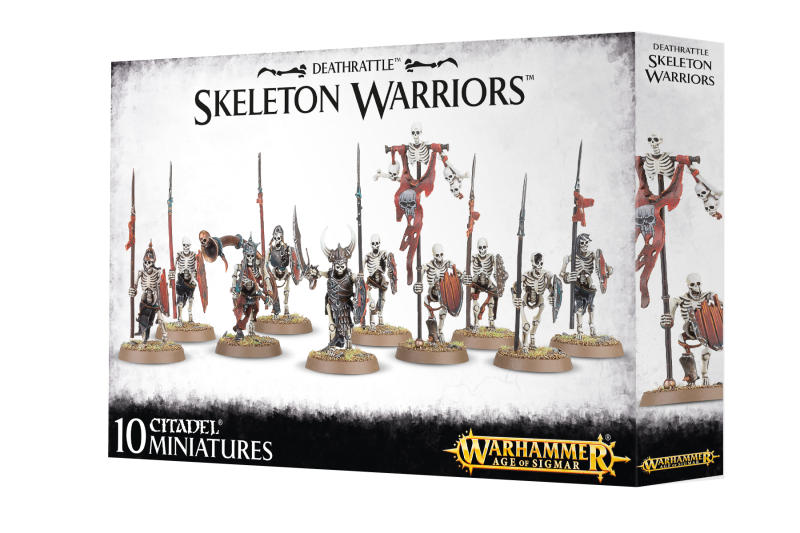 Warhammer AoS - Death - Skeleton Warriors