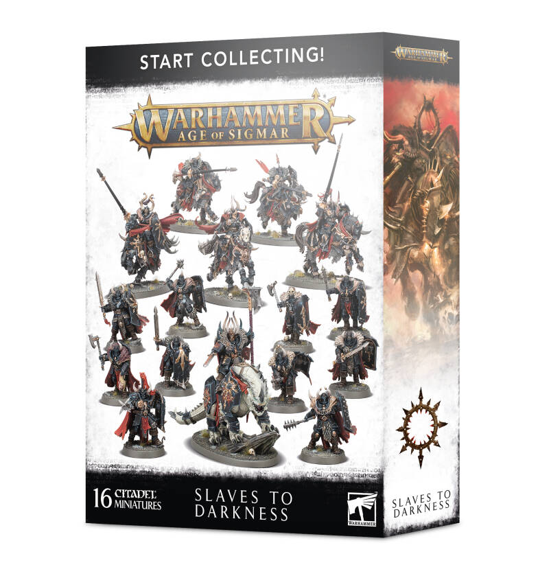 Warhammer AoS - Chaos - Start Collecting! Slaves to Darkness