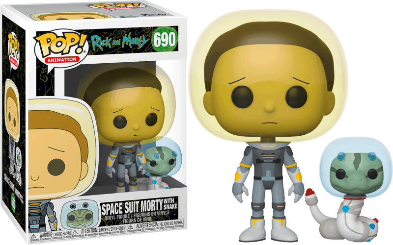 Funko Pop - Rick & morty  - Spacesuit Morty
