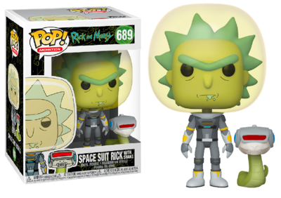 Funko Pop - Rick & Morty - Spacesuit Rick