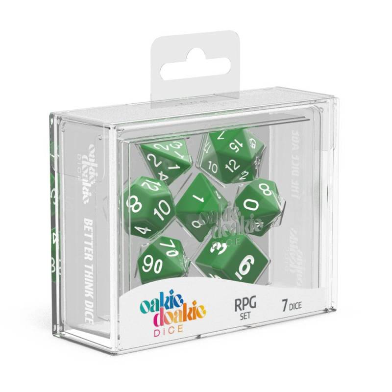 Dice - Oakie Doakie - RPG Dice Set Solid
