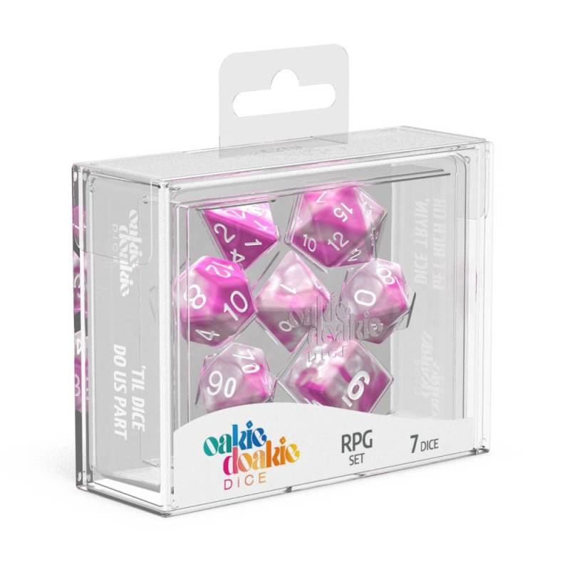 Dice - Oakie Doakie - RPG Dice Set Gemdice