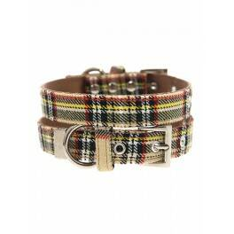 Urban Pup Brown Tartan Collar