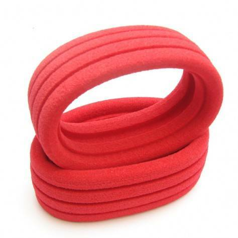 6MIK 1/8 Closed Cell Buggy Inserts, RED - 1pr