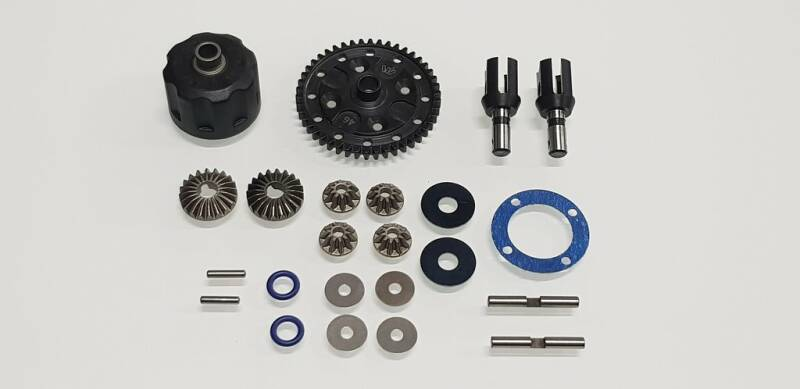 WRC SBX.1 CENTRAL DIFFERENTIAL COMPLETE KIT 100803-KIT