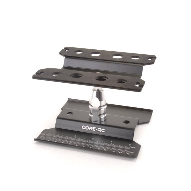 CORE RC ROTATING CAR STAND BLACK