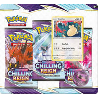 Sword & Shield Chilling Reign 3-booster Snorlax
