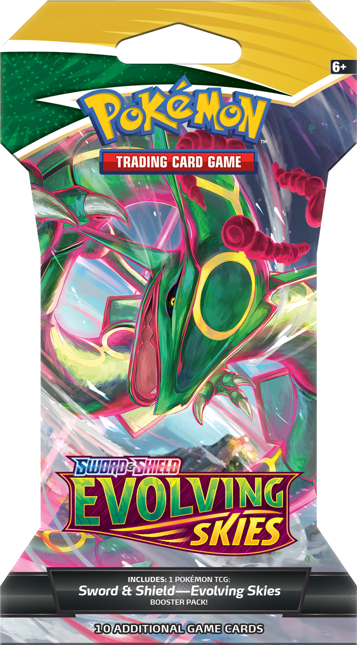 Evolving Skies Sleeved Booster - Rayquaza